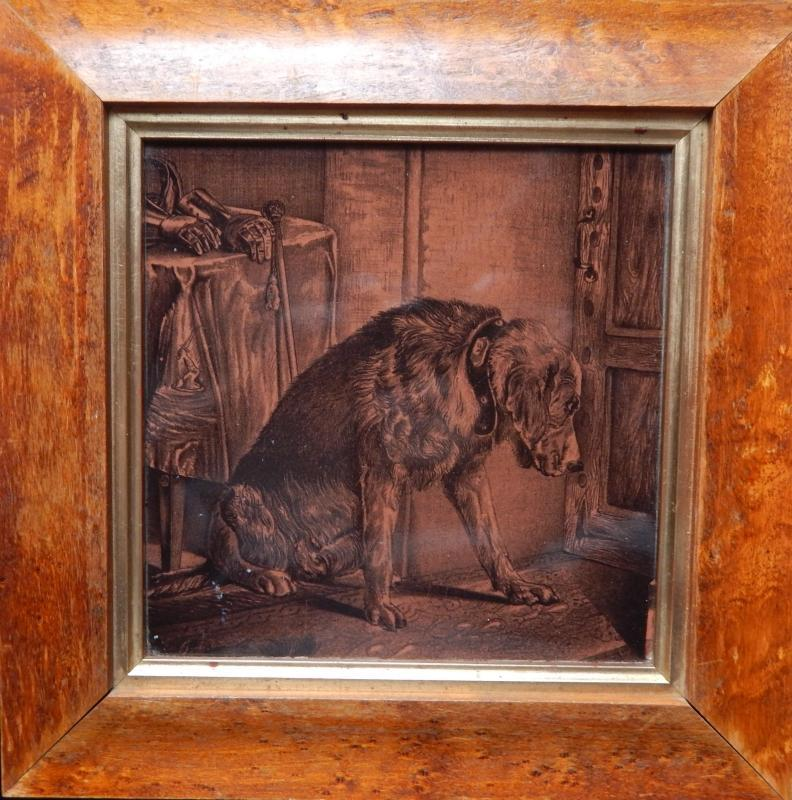 Sir Edwin Henry Landseer Dog Tile