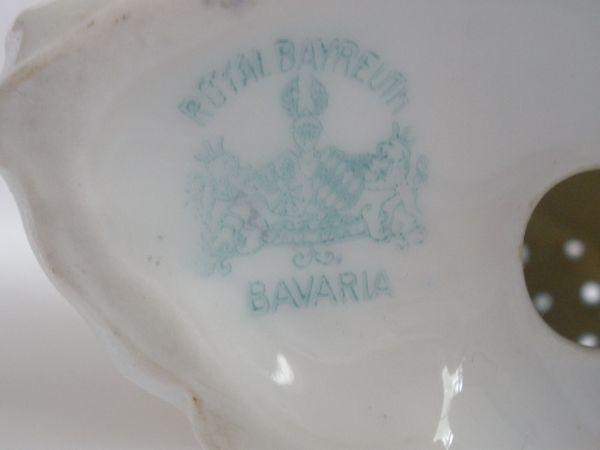 Royal Bayreuth Shell Salt