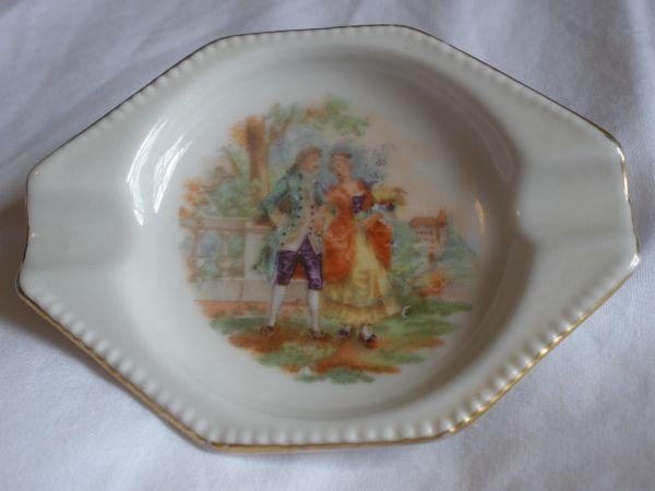 Porcelian Bavarian Ashtray