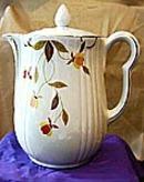Autumn Leaf Coffee Pot
