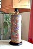 Japanese Meiji period Lamp. Stunning.
