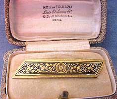 Toledo Bar Pin & original box