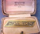 Toledo Bar Pin & original box