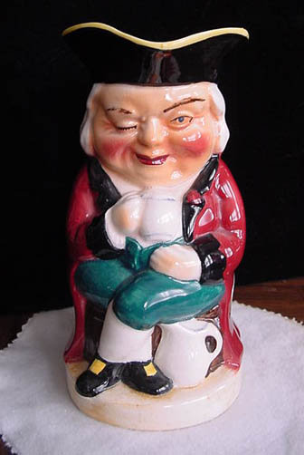 Burlington ware Toby Jug