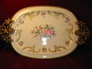 LIMOGES Server ORMOLU Mounts - Hand Painted -