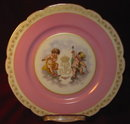 SEVRES Tuileries PALACE Plate 1846 - ANTIQUE -