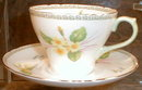 SHELLEY Yellow PRIMROSES Tea CUP and Saucer -