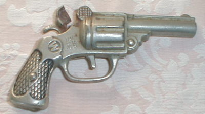 BULLDOG Cap TOY Gun VINTAGE Cast Iron