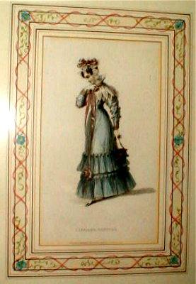 ACKERMANNs Fashion PRINTS (4) - early 1800s