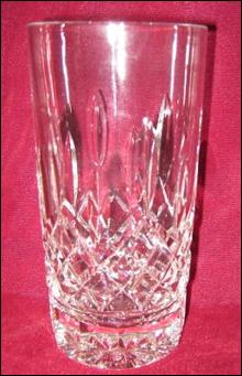 Waterford Lismore High Ball Glass Cut Crystal