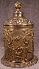 Humidor BRONZE - ANTIQUE - Classical STYLE