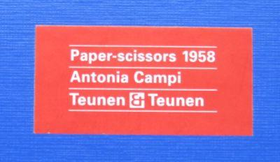 Antonia Campi Neto Scissors, 1958, Italy —BOXED—