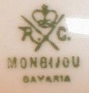 ROSENTHAL Monbijou SCENIC Decorator PLATE -