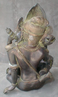 Bronze Tantric Buddha Vajradhara Shakti EROTIC