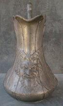 KAYSERZINN Pewter Satyr/Devil Ewer Wine Pitcher