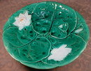 HOLDCROFT Pond LILY Compote - SIGNED - Antique-