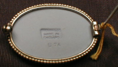 WEDGWOOD Jasperware Brooch - STERLING Pin -