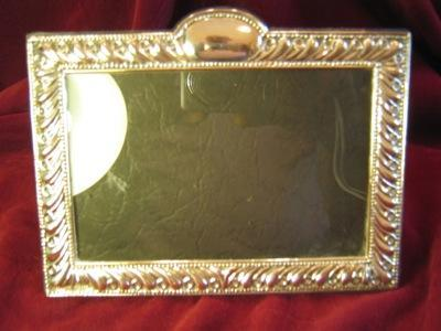 STERLING Silver REPOUSSE Frame