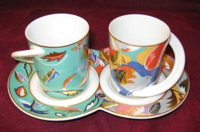 ROSENTHAL Studio Line Cupola Love Cups by Van Loon