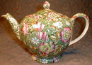 CHINTZ Garden TEAPOT - Royal WINTON - Antique -