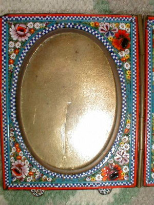 MICROmosaic DOUBLE Frame ITALY - Antique -
