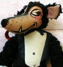 WOLFIE Plush TOY 1930s Tex AVERY - Vintage -