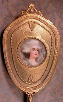 Miniature PORTRAIT Marie Antoinette -ANTIQUE-