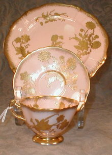 HAMMERSLEY Lunch SET for 12 Pink+GOLD -36 pcs-