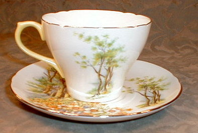 Shelley DAFFODIL Time TRIO -Cup SAUCER Plate-