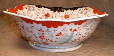 CHINOISERIE Bowl LARGE Chinese STYLE -Antique-