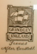 GRINDLEY Scenes AFTER Constable - Antique -