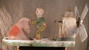 FOLK Art WHIRLYGIG Stubborn Mule - ANTIQUE