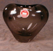 HOLMegaard HEART Vase - ORIGINAL Paper LABEL -