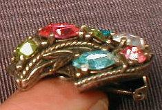 HOLLYCRAFT Rhinestone EARRINGS -Vintage-