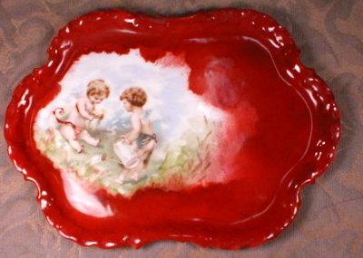 ROSENTHAL Tray CHERUBS Angels - Monbijou HP -