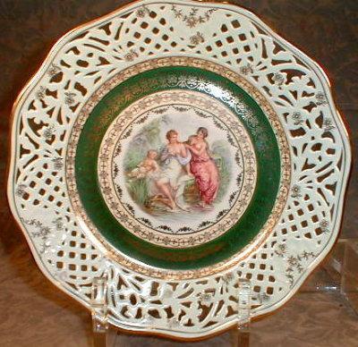 GERMAN Decorative PLATE Kaufmann DESIGN Gloria
