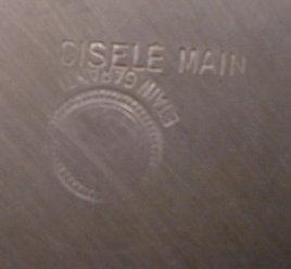 French CHASED Trinket VANITY Box SIGNED Cortes-