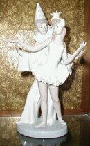 LLADRO Carnival COUPLE Peirot + Ballerina #4882