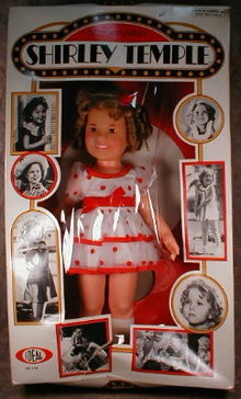 Shirley TEMPLE Doll BOXED - Ideal #1125 Vintage