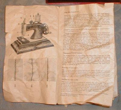 CASIGE Sewing Machine #1650 Box - GERMANY -