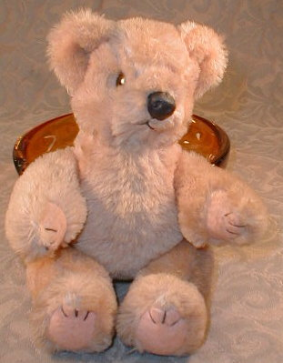 TEDDY Bear JOINTED - VINTAGE -