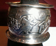 WITCH Sterling NAPKIN Ring NURSERY Rhyme