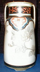 NIPPON Nouveau VASE -  Hand Painted ~ ANTIQUE ~