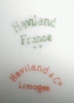 HAVILAND Limoges CHOCoLATE Set-Pot+CUPS+Saucers