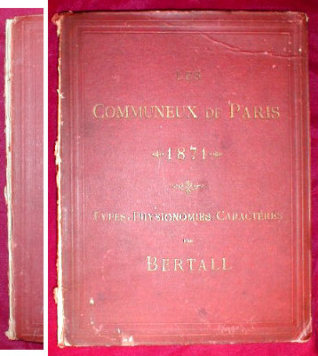 PARIS Commune PRINTS Bertall 1871 -Antique-