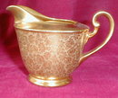 Stouffer GOLD China - CREAMER & Sugar SET -