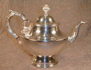 Poole Silver Teapot 1030 EPC Hollowware