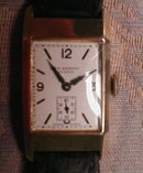 JW Benson WRISTwatch 9k Gold SWISS 15J ENGLAND-