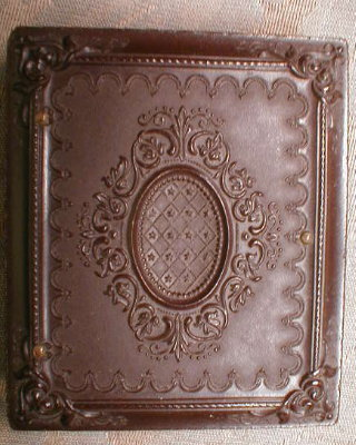 BROWN Union CASE Thermoplastic -ANTIQUE-