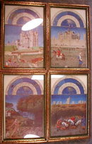 Tres RICHES Heures 12 Framed Prints - ANTIQUE -